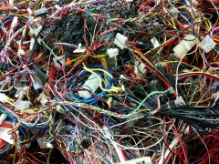 Tangled wires, Freegeek, Portland, Orego by gruntzooki, on Flickr