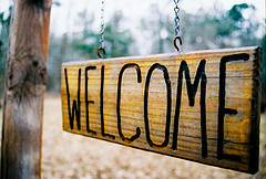 Welcome by WaywardShinobi, on Flickr