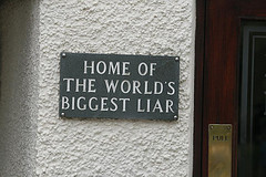 World's Biggest Liar by Alan Cleaver, on Flickr