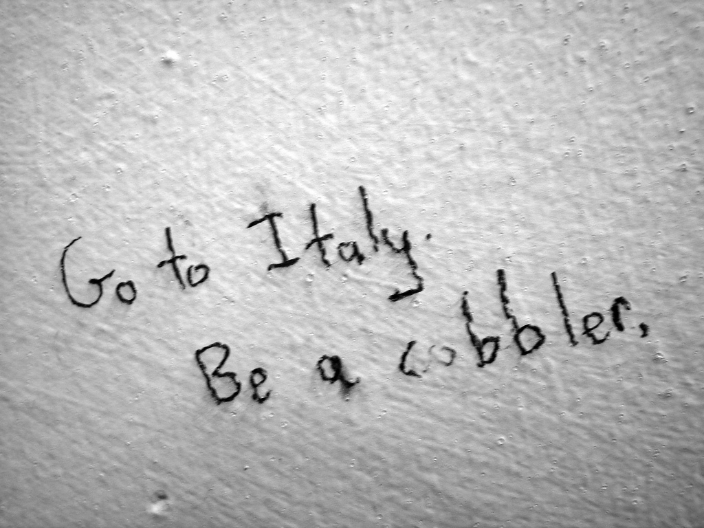 Go to Italy. by QuinnDombrowski, on Flickr